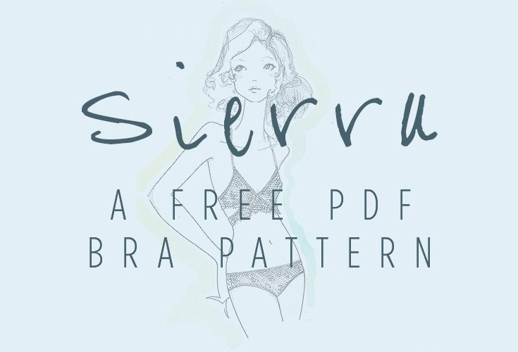 free bra pattern | How To Sew Lingerie Tutorial, Tips, and Tricks ...