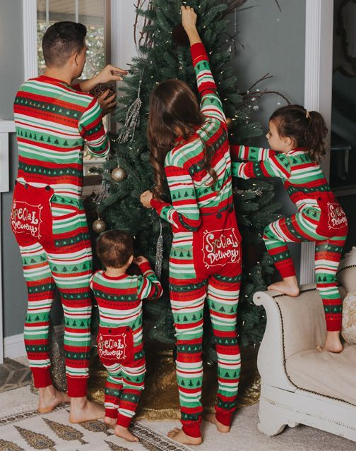 Christmas Family Pajamas Flapjacks Christmas Pajamas Family Pajamas by ChristmasPajamasEtc on Etsy