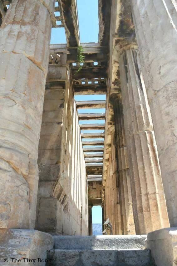 Temple Of Hephaestus Ancient Agora Athens Mythological Tour A
