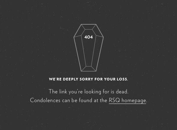 30 個新鮮即充滿創意的 404 網頁設計