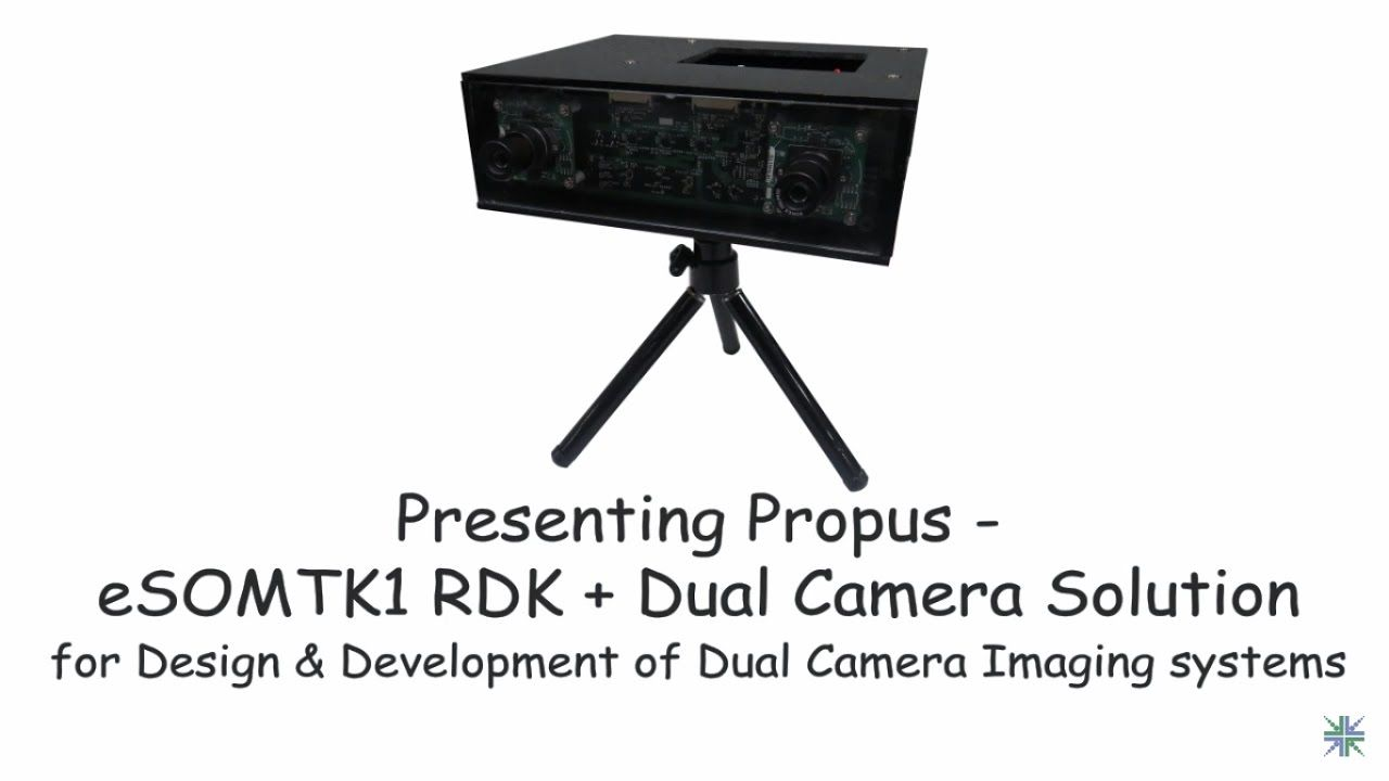 Are you looking to build a Dual camera imaging system, watch this ...