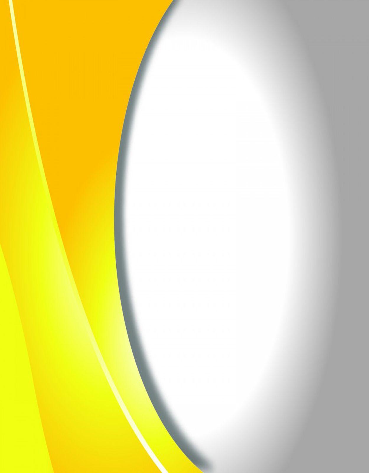 caratula amarillo y blanco para trabajos