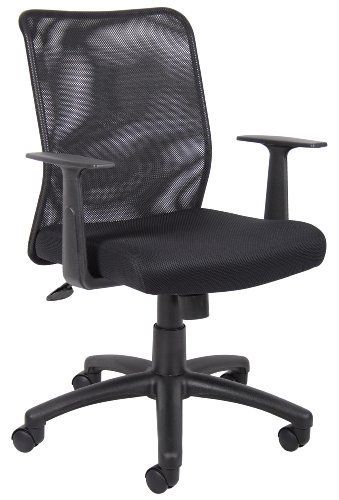 Admirable Boss Budget Mesh Task Chair With T Arms By Boss 78 99 5 Home Interior And Landscaping Ologienasavecom