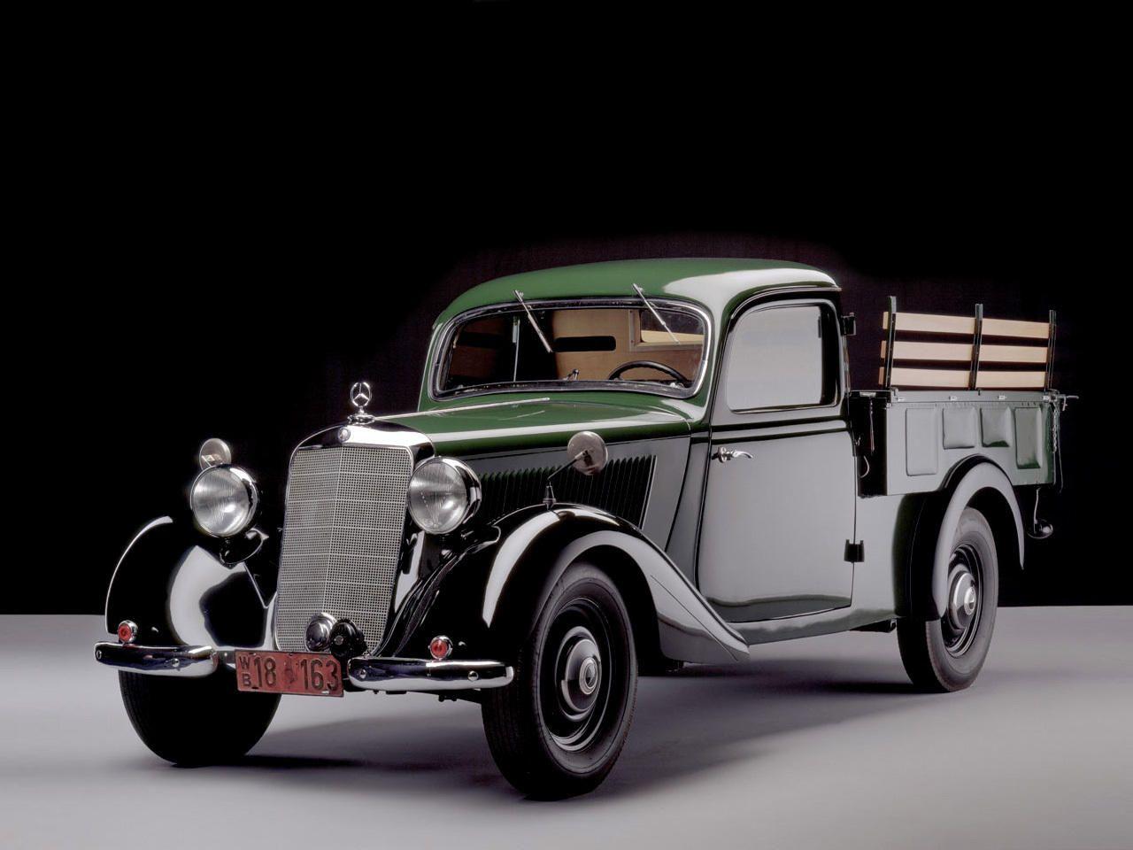 """germancarsafter1945 """"1949 Mercedes 170 V Pickup www"""