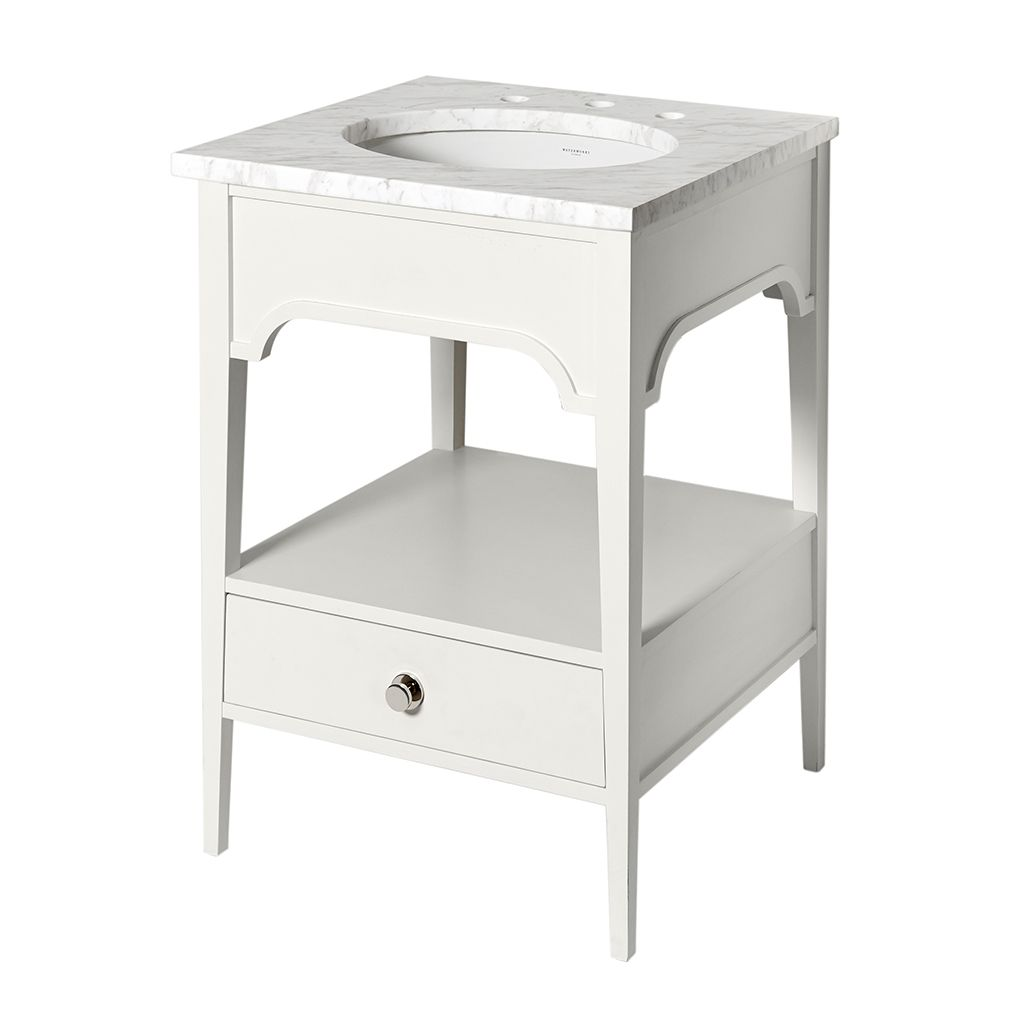 """Photo of Oxley Single Vanity Only 22 3/4 """"x 22 1/4"""" x 32 1/2 """""""