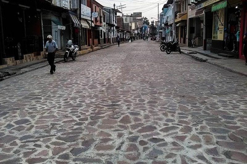 Entre las obras se encuentra la colocación de pavimento con empedrado en cuatro vialidades de la zona urbana de Jiquilpan, municipio ubicado en la región Ciénega de la entidad, gracias ...