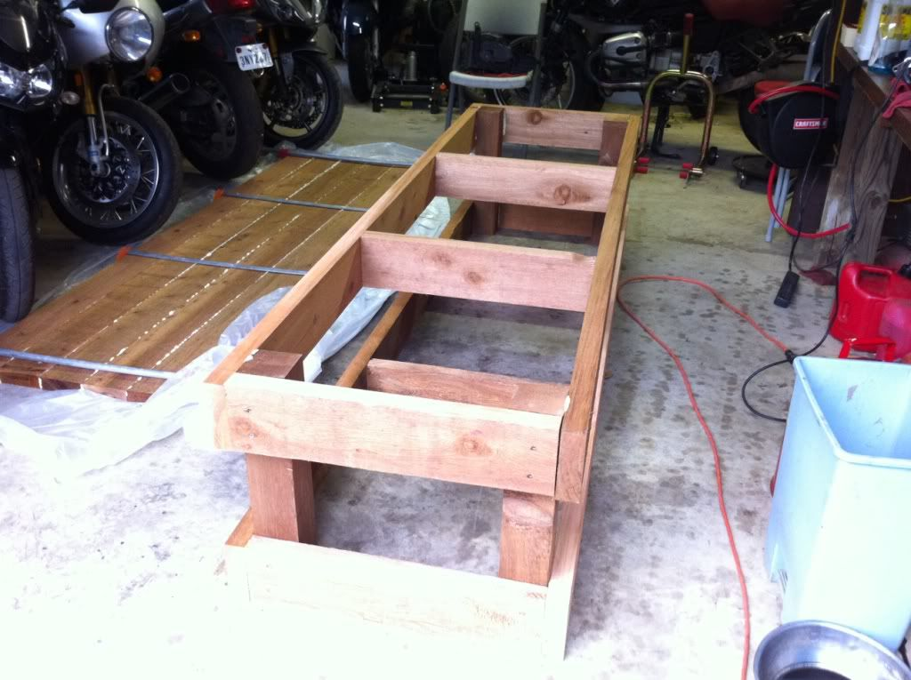 Do It Yourself Home Design: Motorcycle Work Bench Plans The Kind You Put Your