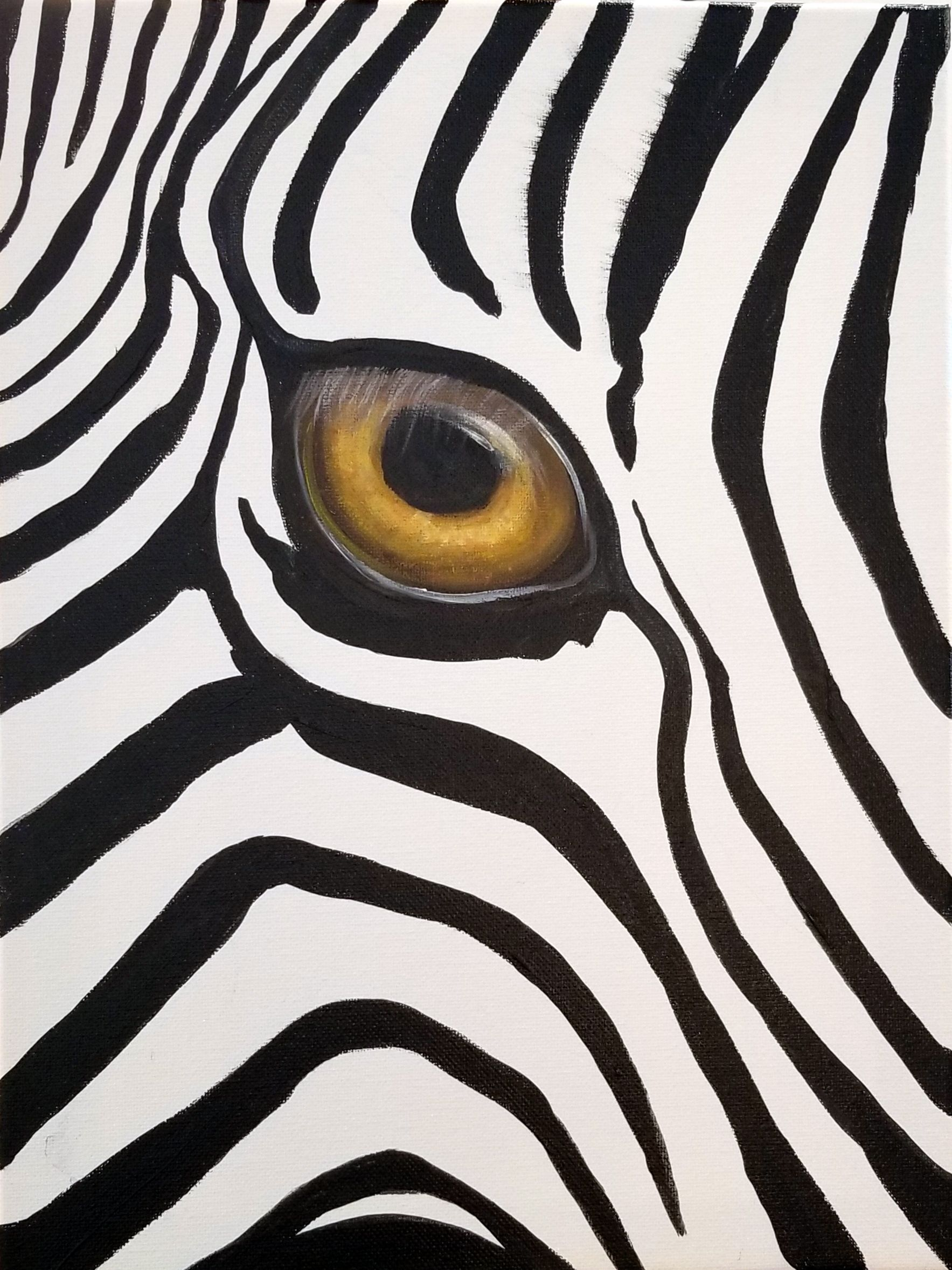 Take A Brush On The Wild Side Paint Your Own Zebra Each Person Receives A Copy Of The Painting To Use As A Reference And Also Th Animal Art Painting Rock