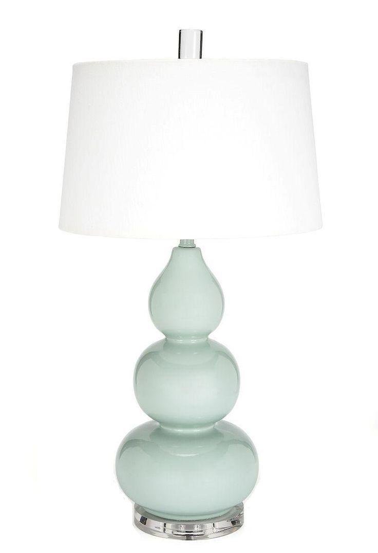 Spa Blue Bedside Lamp