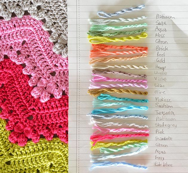 Granny chevron ripple blanket a week of crochet | ♥ C r o c h e t ...