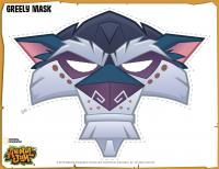 Image of: Keywords Animal Jam Diy Greely Halloween Mask Pinterest Animal Jam Diy Greely Halloween Mask Animal Jam Animal Jam
