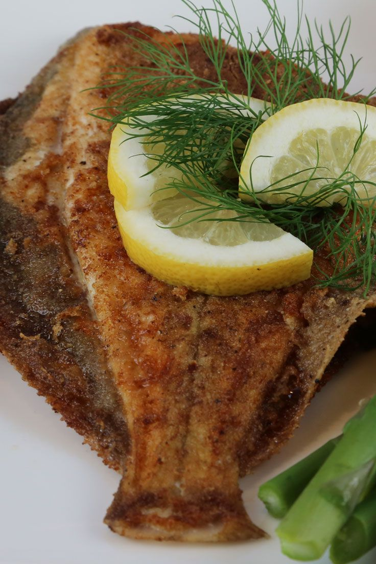 how to cook fish in a pan with flour