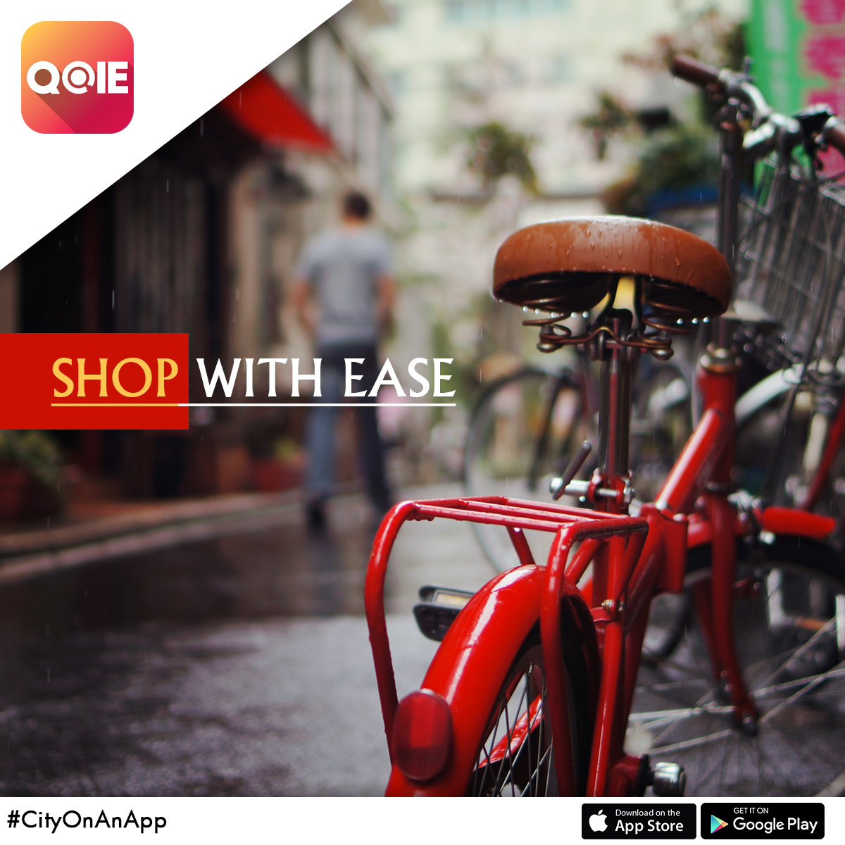 Take your CityOnAnApp to go shopping with ease. Download