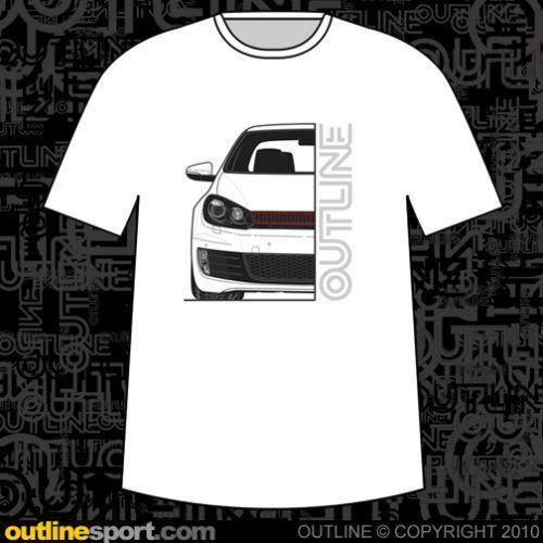 mk6 gti t shirt see others vw golf volkswagen mkvi ebay. Black Bedroom Furniture Sets. Home Design Ideas