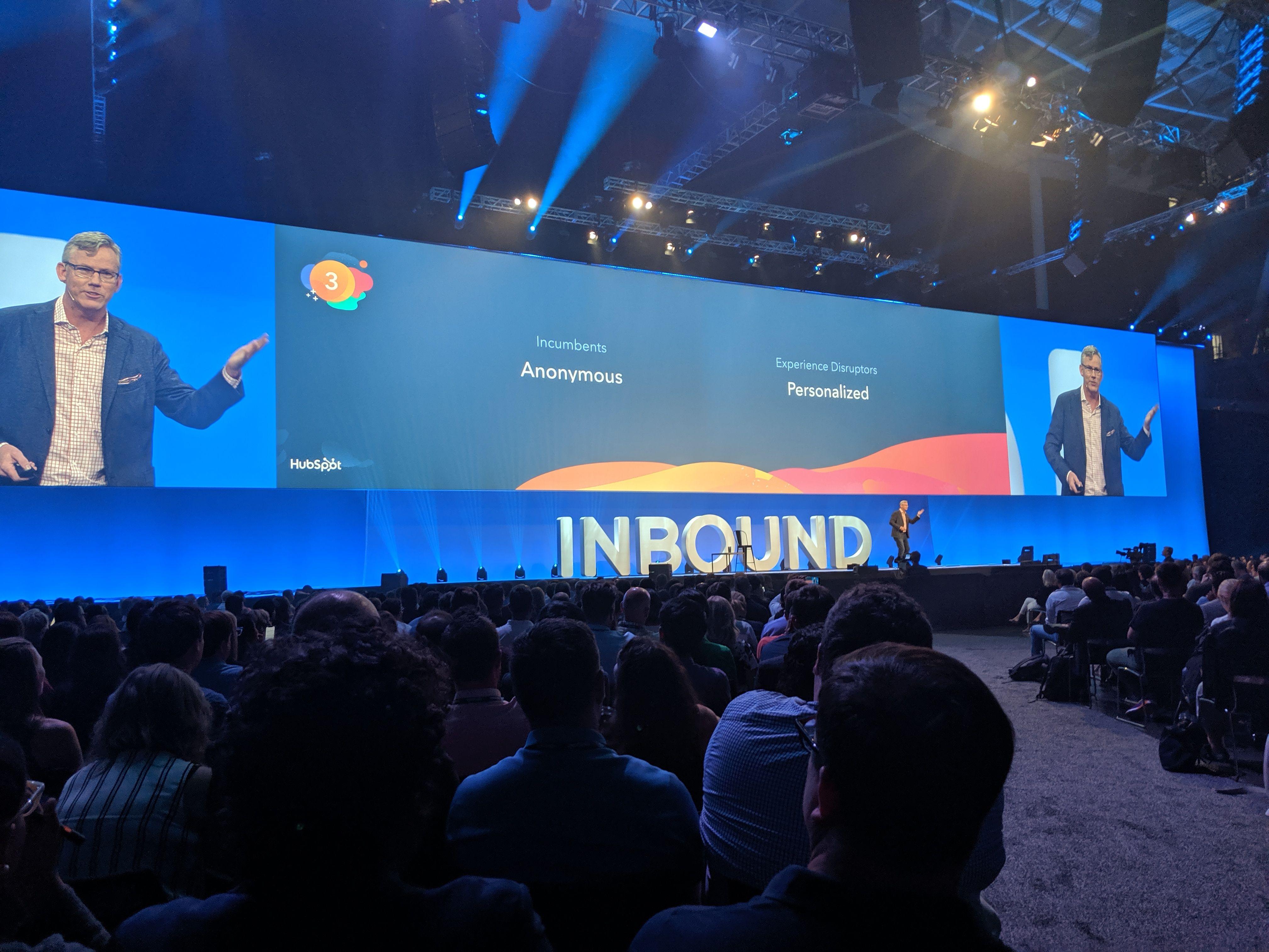 Inbound19 Conference Design Stage Design Backdrop Design