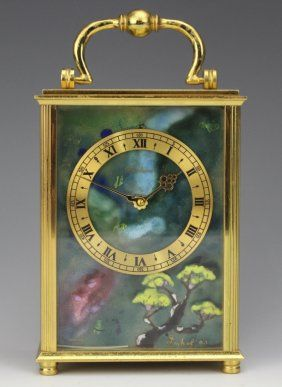 Hill Auction Gallery Exclusive Collection Of A Hollywood Socialite Page 2 Of 4 Carriage Clocks Clock Exclusive Collection