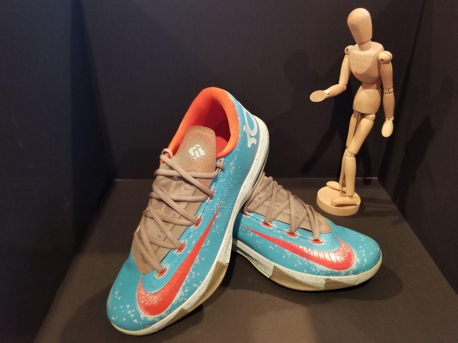 898dccad5710 Nike KD VI Maryland Blue Crab Gamma Gray Gold 599424-400 Men s Size 11 No  Box