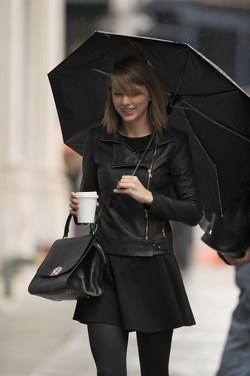Taylor Swift in NYC today