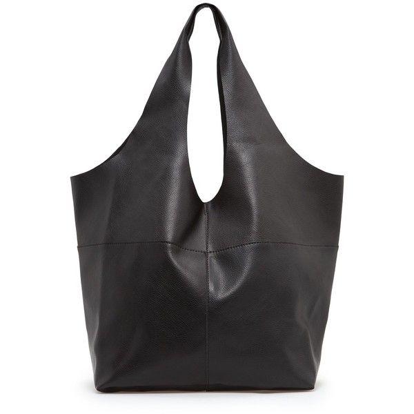 MANGO - BAGS - Hobo bag ($150) ❤ liked on Polyvore