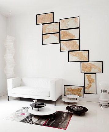 unique way to display art