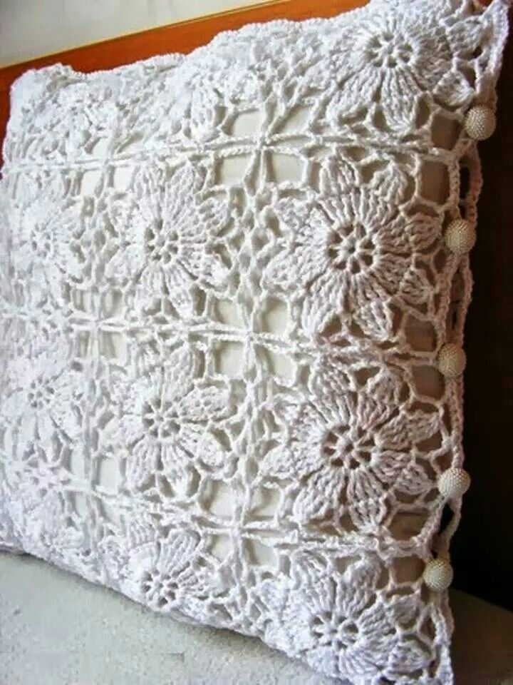 Cojines crochet pinterest crochet pillows and - Cojines a crochet ...