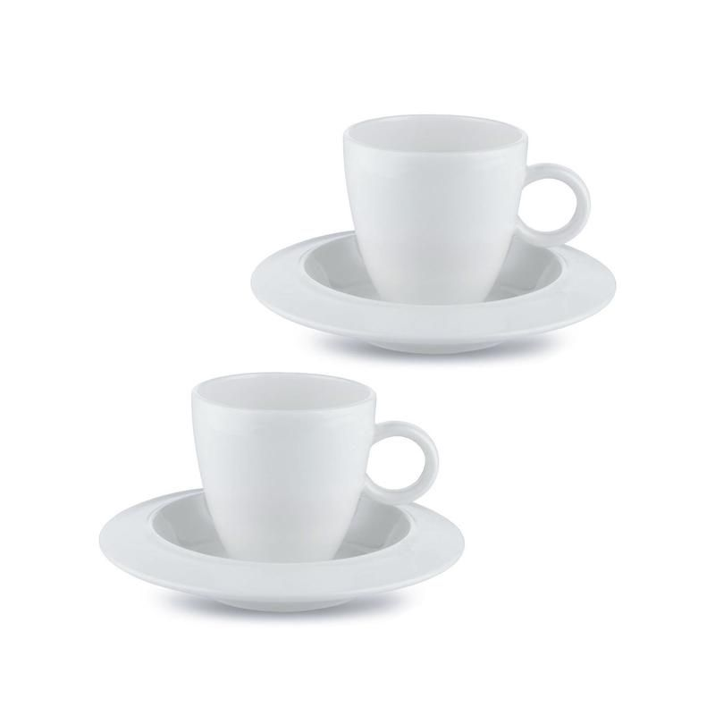 Alessi Bavero Coffee Mocha Set Coffee Cups Saucers Mocha Alessi