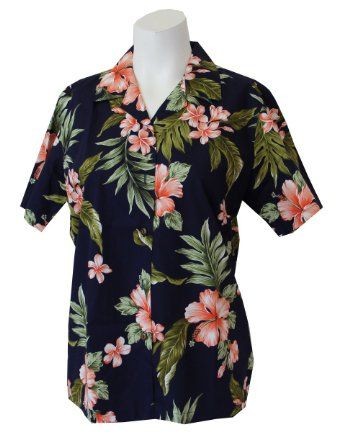 00399f1a Amazon.com: Tropical Hibiscus Women's Hawaiian Shirt: Clothing ...