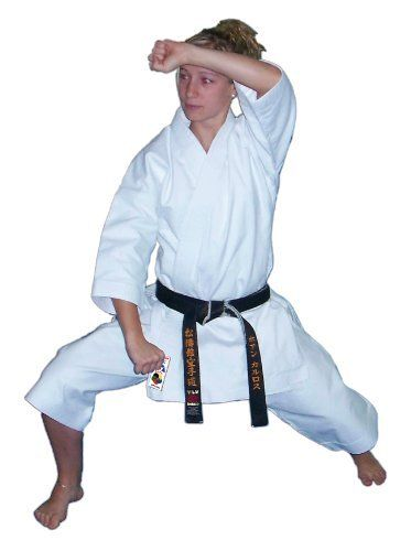 Kamikaze KATA-WKF Karate Gi Uniform White 100% Cotton (5