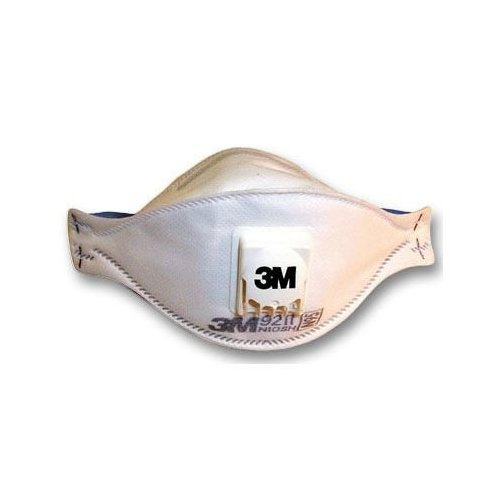 N95 Respirator With Valve White 3m Particulate 9211 Exhalation