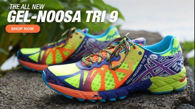 Asics gel noosa tri 9. Running shoes to die for.