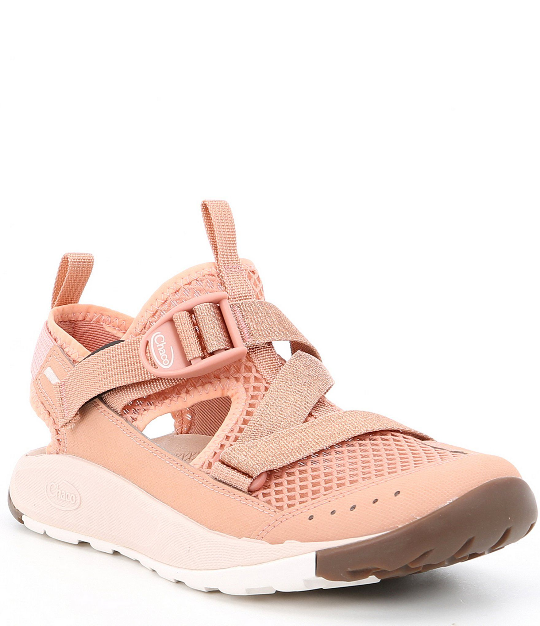 Closed toe sandals, Pink nike shoes