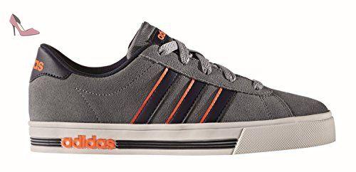 adidas NEO , Baskets pour garçon grey/collegiate navy/solar orange ...