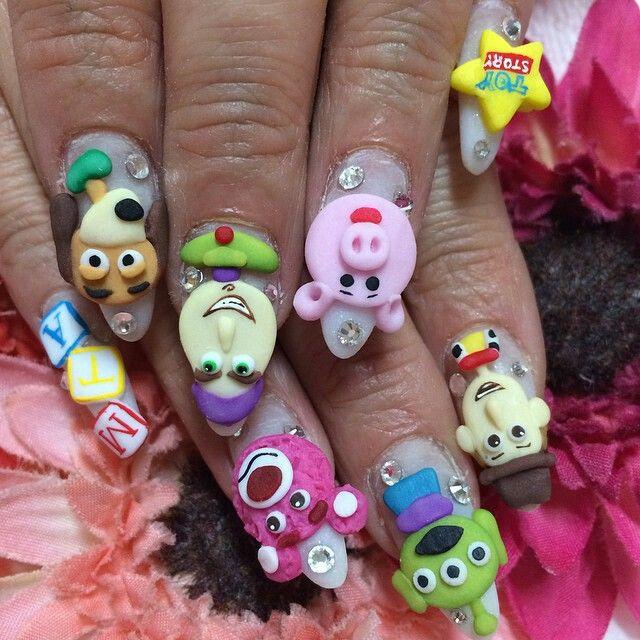 Pin by Melizanette Texidor on Nailzz   Pinterest   3d acrylic nails ...