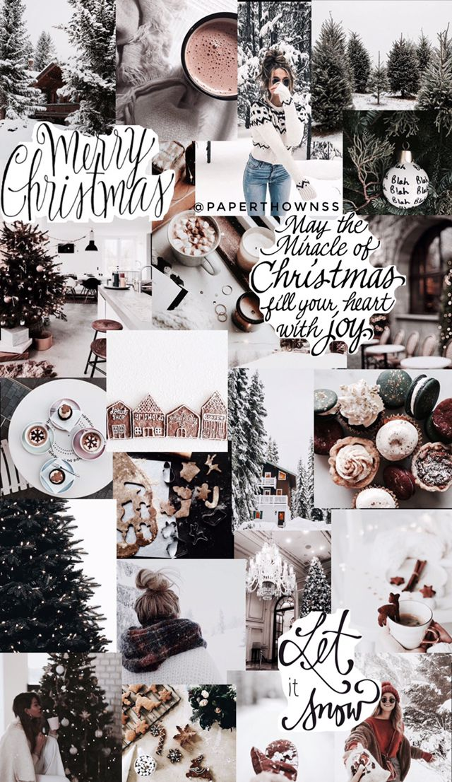 Christmas Collage Wallpaper By Paperthownss Christmas Collage Wallpaper Iphone Christmas Xmas Wallpaper