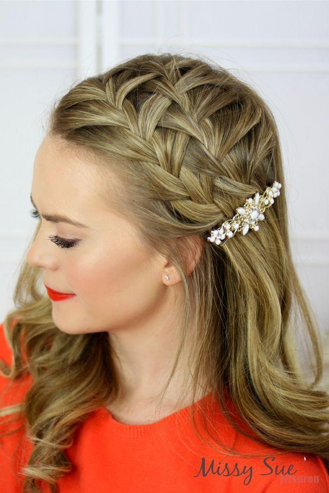 20double braid frisur frisuren stirnband+#20double #braid