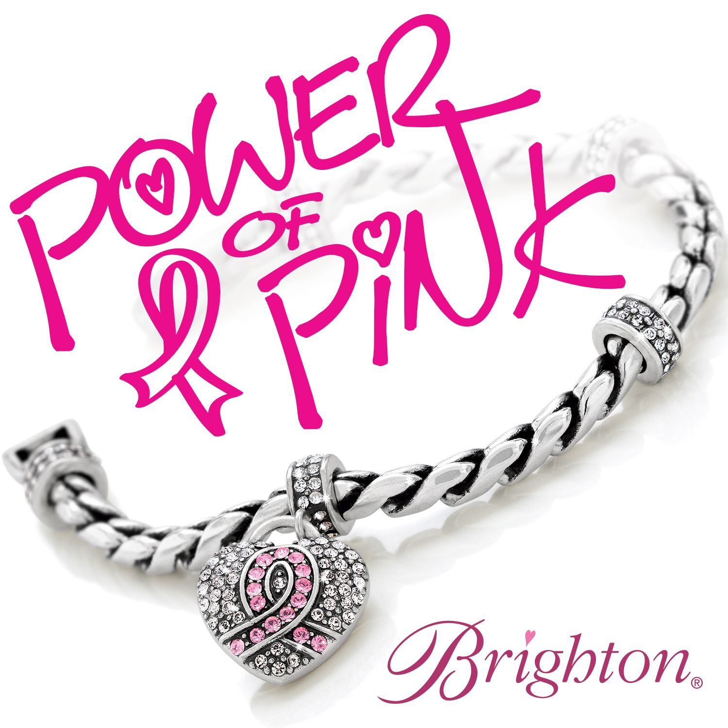 Pretty with a purpose brighton 39 s 2013 power of pink for Jewelry that supports a charity