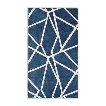 Sumi Towel - Denim & Aqua