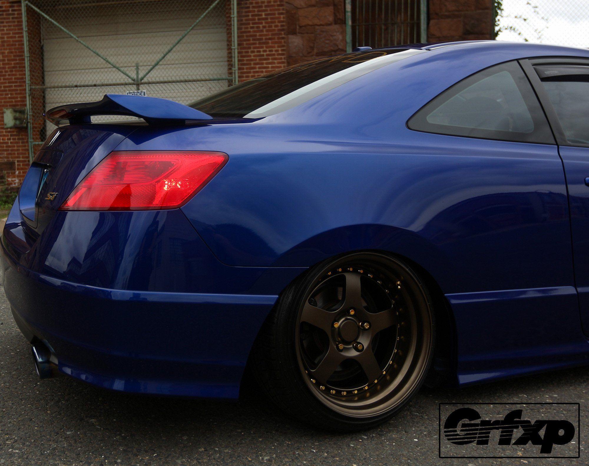 Tail Light Overlays for 2006-2011 (8thGen) Honda Civic Coupe | Honda ...