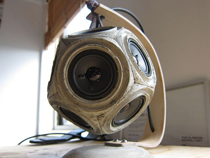 How to Made a Concrete Dodecahedron Speaker