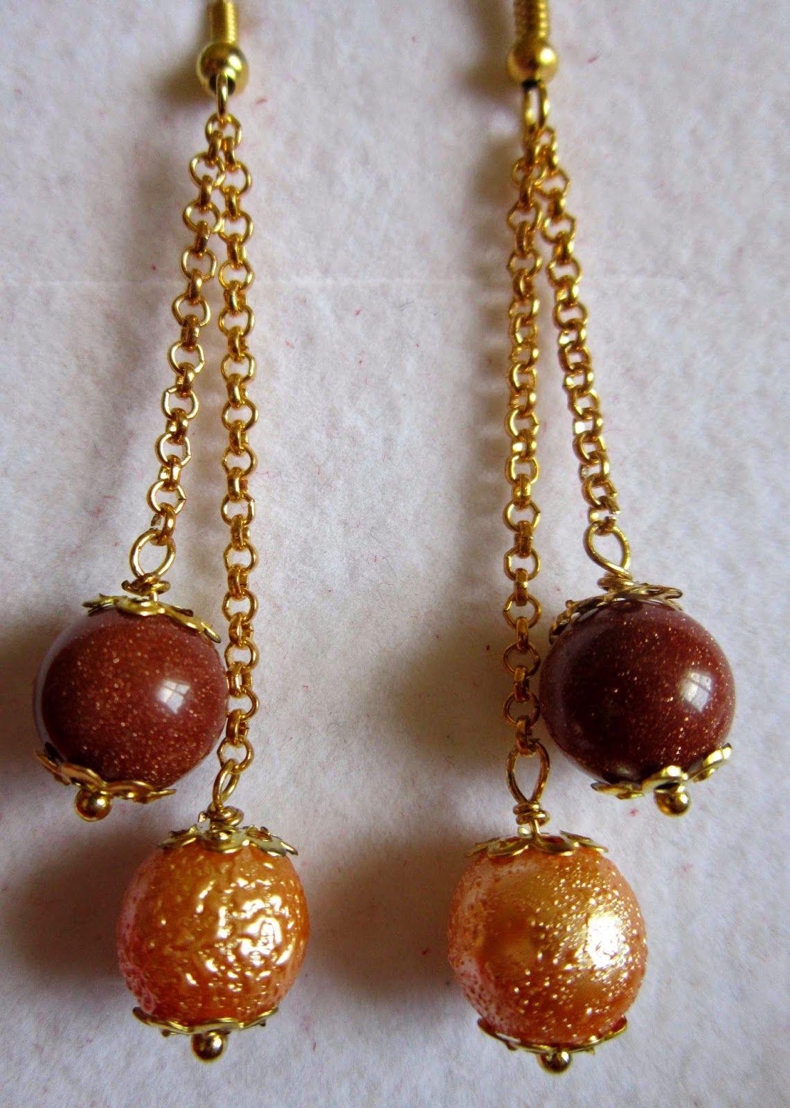 Piccoli Capricci: Pietre di sole ed Orecchini | Earrings | Pinterest