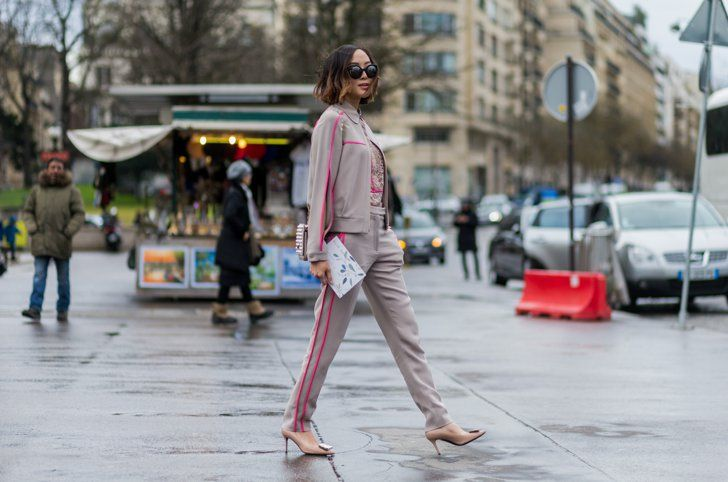 Pin for Later: 38 Flawless Street Style Looks From Paris Haute Couture Week Street Style at Paris Haute Couture Fashion Week Spring 2016 A guest.