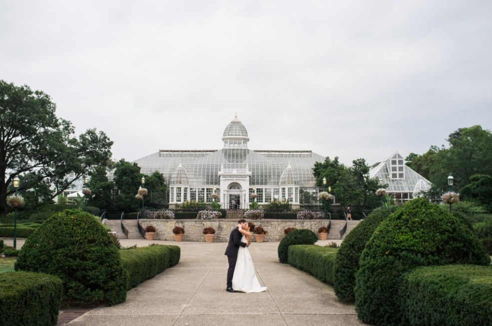 Natalie And Patrick Cannone Wedding Columbus Ohio Hilton Short North Franklin Park Conservatory Franklin Park Conservatory Franklin Park Destination Wedding