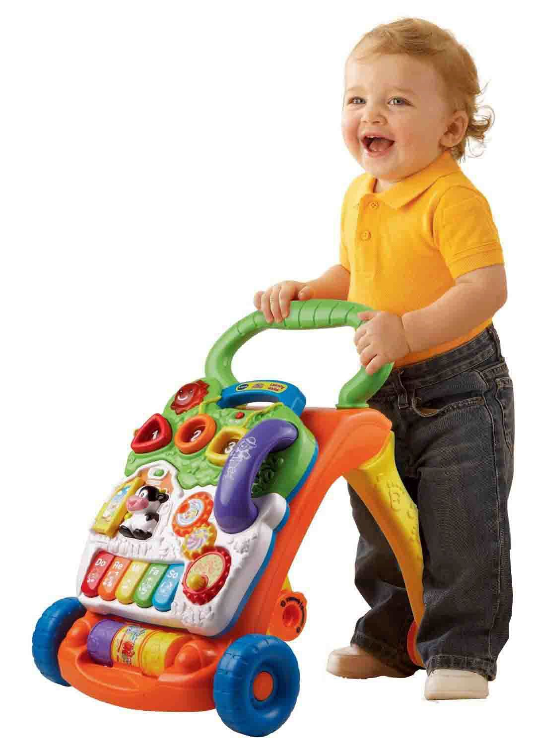 Walkers Folding Baby Walker Music Game Table Multifunction 2in1 Push Early Childhood Boy First Walkers With Wheels Toy 0-1 Years Attractive Designs;