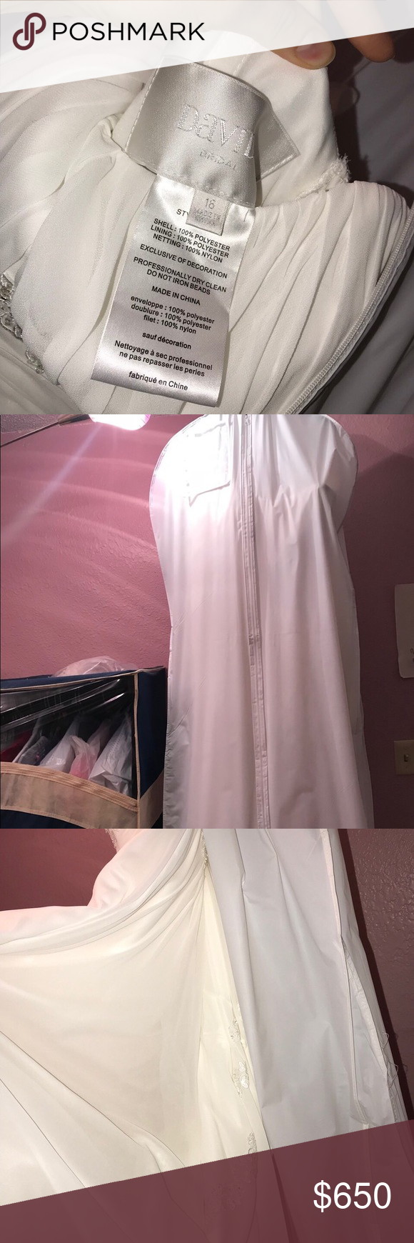 Wedding dress dry cleaning near me  White wedding dress long chiffon Very elegant and comfortable Long
