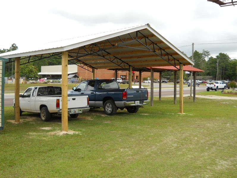 Creative Carport Wood For Car Fetching 2 Plans And
