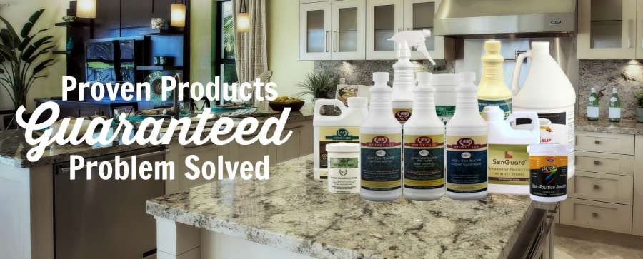 Granite Countertop Care & Marble Cleaning Products