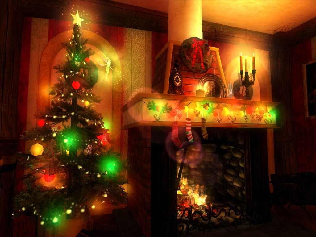 free 3d desktop wallpaper screensavers | 3d christmas magic