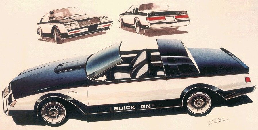 BEFORE BLACK - 1982 GN Prototype Buick Grand National