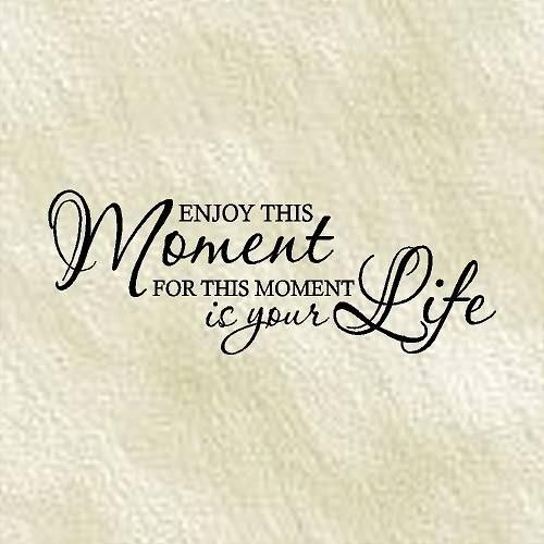 Quote enjoy this moment for this moment is your life for Quotes on enjoying the day