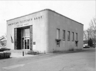 American Fletcher Bank 10th St 1960 Indianapolis Indiana Indianapolis Indiana